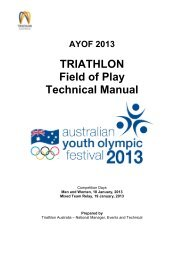 AYOF 2013 - International Triathlon Union