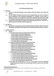 ITU Continental Ranking Criteria 1. GENERAL - International ...
