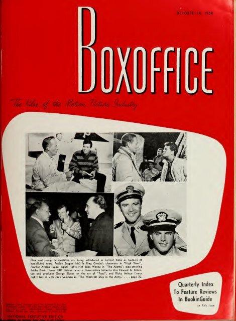 Boxoffice October 24 1960