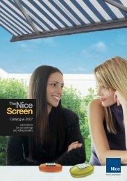 Nice Screen Brochure - Tribpt