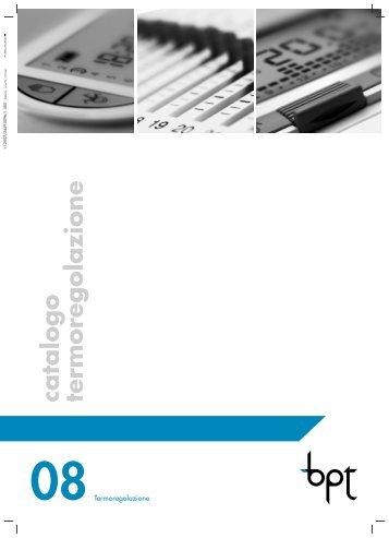 Cronotermostato touch scr for Bpt ta 350 istruzioni