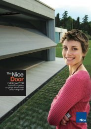 Nice Door Brochure - Tribpt