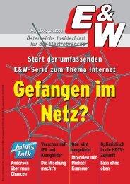 Start der umfassenden E&W-Serie zum Thema Internet