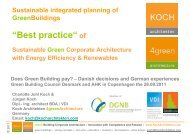 koch@kocharchitekten.com Does Green Building pay?