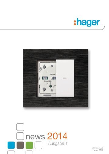 news 2013 - Hager