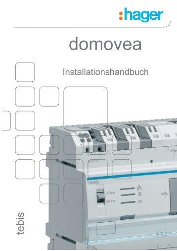 domovea Installationshandbuch - Hager