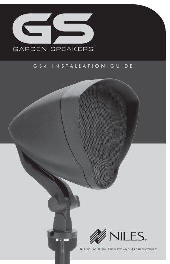 GARDEN SPEAKERS - Niles Audio