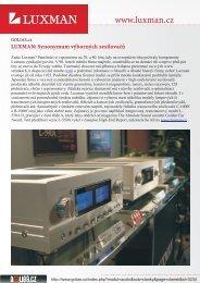 zde v PDF - Luxman
