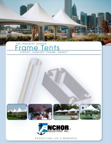 Frame Tents - Anchor Industries  sc 1 st  Yumpu & Anchor camp tents 2012 price catalog