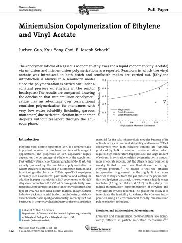 Vinyl Acetate Monomer Process 10