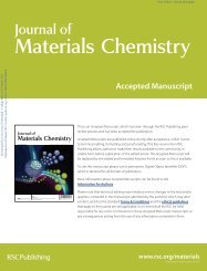 J. Mater. Chem - Dr. Chunsheng Wang, University of Maryland