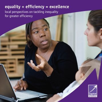 Equality + Efficiency = Excellence Opens in a - Improvement Service