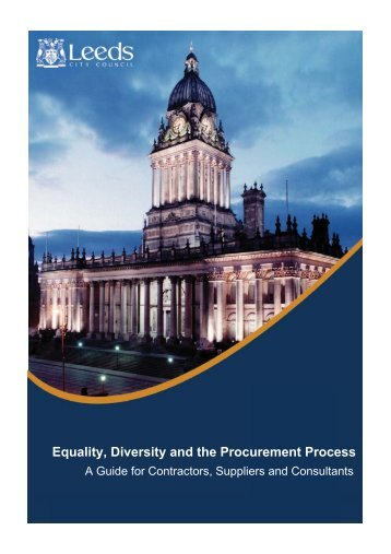 Equality, Diversity and the Procurement Process - East Midlands ...