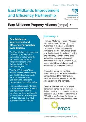 East Midlands Property Alliance