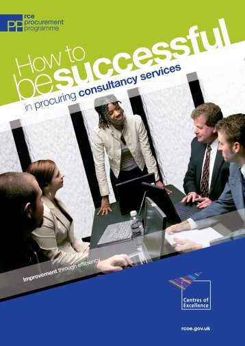 How to be successful in procuring consultancy ... - London Councils