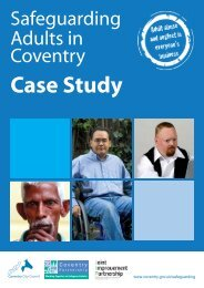 Safeguarding Adults in Coventry - East Midlands Improvement and ...