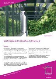 East Midlands Construction Frameworks - East Midlands Councils