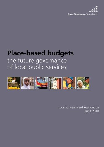 Place-based budgets the future governance of local public ... - Start