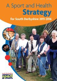 A Sport and Health - Derbyshire Sport