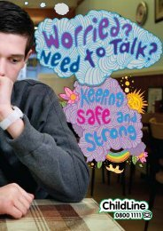 Worried? Need to talk? Keeping safe and strong