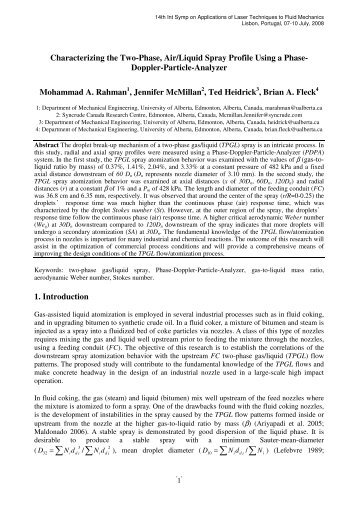 download paper - Laboratory of Thermofluids, Combustion and ...