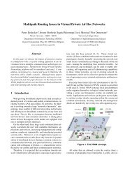 Multipath Routing Issues in Virtual Private Ad Hoc Networks