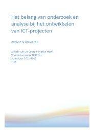 Het belang van onderzoek en analyse bij het ontwikkelen van ICT