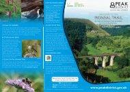 Peak District Monsal Trail Leaflet
