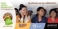 Grote Oxfam- Inzamelactie - MijnVoordeel.be