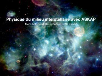 Physique du milieu interstellaire avec ASKAP