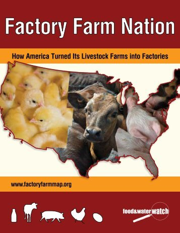 How America Turned Its Livestock Farms into ... - Factory Farm Map