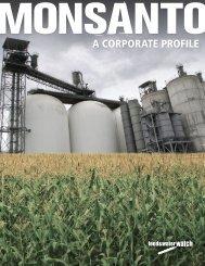 Monsanto - Food & Water Watch