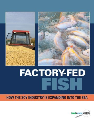 Factory-Fed Fish - Food & Water Watch