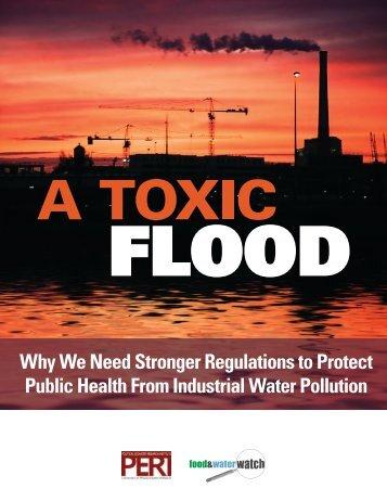 A Toxic Flood - PERI - University of Massachusetts Amherst