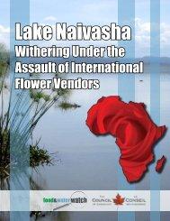Lake Naivasha - Food & Water Watch