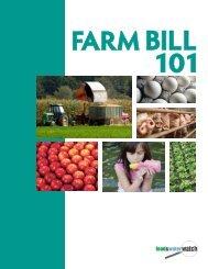 Farm Bill 101 Report - Food & Water Watch