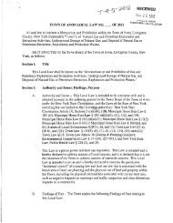 Local Law T-5A-2012 - Food & Water Watch