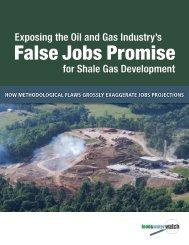 False Jobs Promise - Food & Water Watch