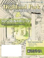Community Guide - Highland Park Chamber of Commerce