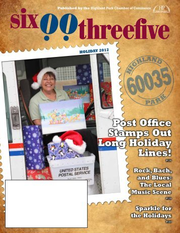 Post Office Stamps Out Long Holiday Lines! - Highland Park ...