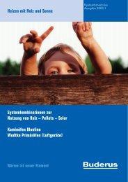 Pellets – Solar Kaminöfen Blueline Wodtke Primäröfen ... - Buderus