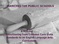 Powerpoint for English Language Arts (ELA) - Manchester Public ...