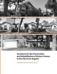 Incentives for the Preservation and Rehabilitation of Historic Homes ...