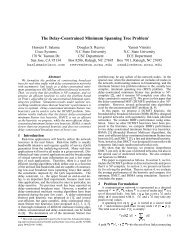 The Delay-Constrained Minimum Spanning Tree ... - ResearchGate