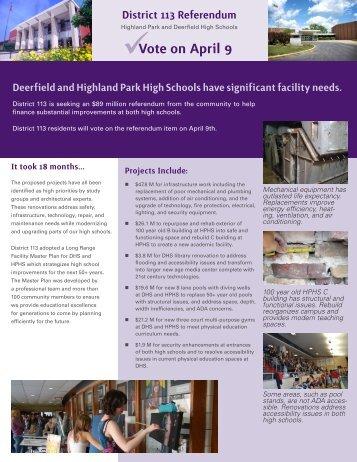 handout - Township High School District 113