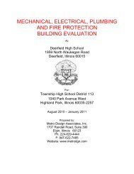 mechanical, electrical, plumbing and fire protection building evaluation
