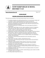 2-20 - Township High School District 113