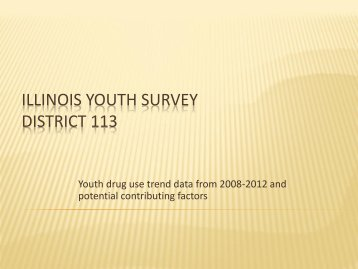 2012 Dist 113 Trend data from IYS Trial Version - Township High ...