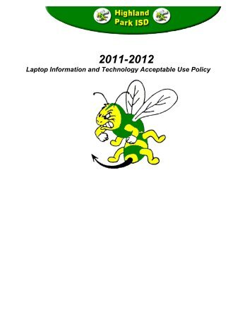 Laptop Information and Technology Acceptable Use Policy