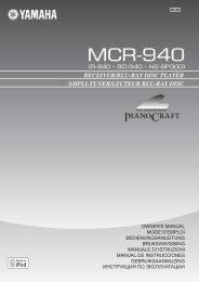 MCR-940 - MR Hifi